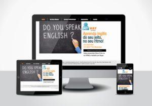 Site para My Way Idiomas