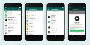 Whatsapp está testando um diretório local de empresas no aplicativo